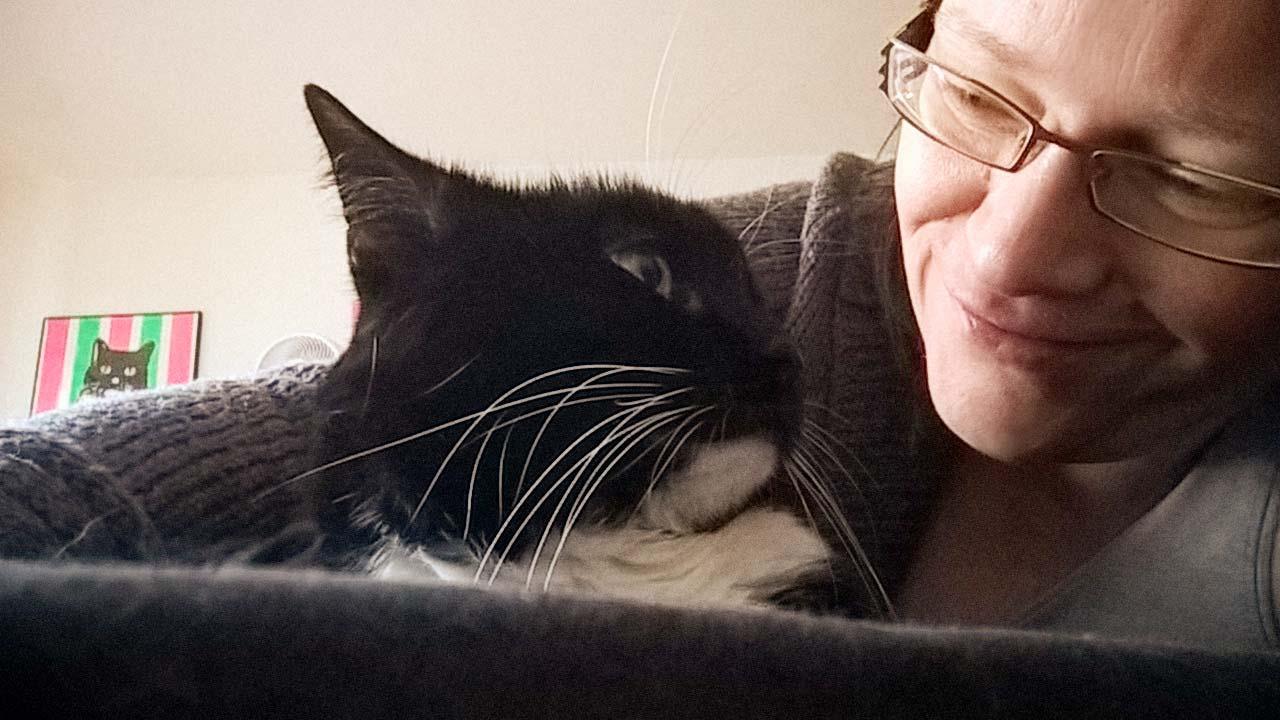 Katzen Blickkontakt: Luzi kommuniziert mit ihren Augen